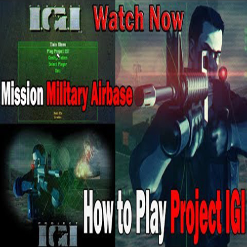 Project I.G.I.: I'm Going In – Mission-3 (Military Airbase)